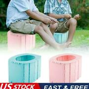 Portable Travel Folding Toilet Urinal Seats For Camping Useful U5w9 Long Us
