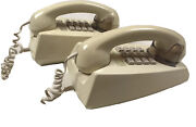 Vintage Telecom Touch Button Wall Phones X 2