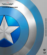 King Arts Avengers Captain America Shield Blue Version 1/1 Scale Alloy New