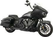 Freedom Turnout 2-into-1 Exhaust For Indian Challenger 2020 Straight Tip Black