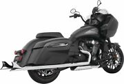 Freedom Performance 2.5 Sharktail Slip-on Exhaust Cholo Chrome - In00093