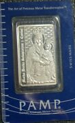 Pamp Suisse One Oz Silver Mother Of Our Redeemer Series Rare Wont Find In Usa