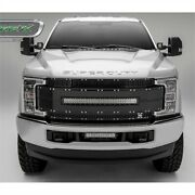 T-rex Grilles 6315481 Torch Series Grille 2017-up Ford F250sd/f350sd 1 Curved Le