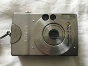Canon Powershot Digital Elph S110 2.1 Mp Digital Camera 2 Batteries And Charger