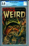Weird Tales Of The Future 7 Cgc 3.0 1952 Classic Horror Cover-0287724013