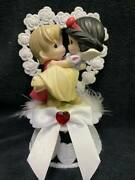 Snow White And Charming Disney Wedding Cake Topper Precious Moment Top New