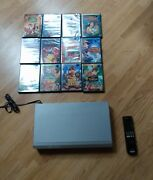 Sony Dvp-ns700p Dvd Player W Remote And 18 Disney Movies Bundle Finding Nemo Bambi