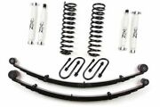 Zone Offroad J21n 3 Suspension System W/rear Leaf Springs For Jeep