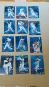 Calbee Pro Baseball Chips 2003 2nd Star Card Silver Sign All 24 Sheets