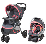 Baby Trend - Ts41227c - Nexton Travel System, Coral Floral - New - Free Ship