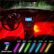 Motorcycle Rgb Led Lights Wireless Remote Multi Color Neon Glow Light Strips Kit