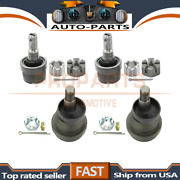 Moog 4pcs Lower+upper Front Suspension Ball Joint For 1984-1989 Jeep Cherokee_pr