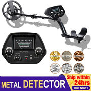 Deep Ground All Metal Detector With 8 Inch Waterproof Coil And 3 Accessories Free