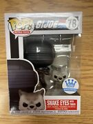 Mint Funko Pop Snake Eyes With Timber - G.i. Joe 78 Funko Exclusive