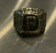 Vintage Pittsburgh Pirates Giant Eagle World Series Champs Adjustable Ring