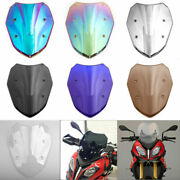 Abs Motorcycle Double Bubble Windscreen Windshield For Bmw S1000xr 14-19 Ua