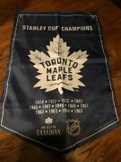 Toronto Maple Leafs Molson Canadian Coors Light Nhl Stanley Cup Banner Flag