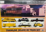 Walthers Caterpillar Trainline Deluxe Ho Train Set