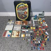 Vintage Micro Minis Collectorand039s Case And Micro Mini Vehicles Galoob Sets Pieces