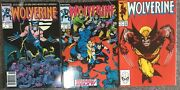 Wolverine Lot 1, 7 And 17 Classic John Byrne Cover 3 Key Comics High Grade