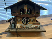 Cuckoo Clock Black Forest House With German Music