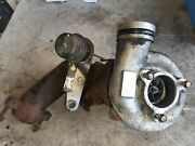 96-02 Chevy Express 6.5 Diesel Complete Turbo W Wastegate And Exhaust Flange