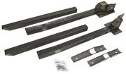 Detroit Speed 010114 Subframe Connectors 1979-1993 Ford Mustang Weld-in Style Su