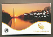 2016 Clad Proof Set - Complete 13 Coin Set With Ogp And Coa