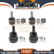 Moog 4pcs Lower+upper Suspension Ball Joint Set For 1984-1989 Jeep Cherokee_prp