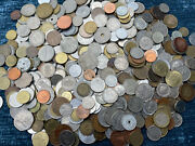 5 + Pound Lot Of World Coins - Huge Mixed Lot Foreign Currency