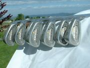 Nice Tommy Armour 855s Silver Scot Rh Iron 3 - Pw 8 Clubs Steel S