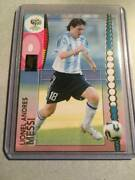 Panini Football Trading Card Rookie Lionel Messi 47 World Cup Rare
