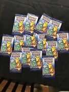 Mcdonalds Pokemon Packs X14 Brand New Factory Sealed With Tin And Mini Booklet