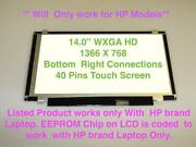 Hp Stream 14-ds0036nr 14-ds0037nr Lcd Led Touch Screen 14 Hd Panel + Digitizer