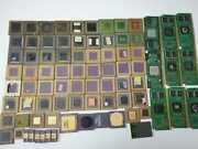 Lot Of 4.136 Lbs Scrap Vintage Cpus And More For Gold Recovery