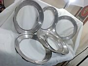 Trim Rings 15 Stainless 2.5 Wide Set Of 6 - H52