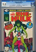 Savage She Hulk 1 Cgc 9.8 White Pages - Key Origin And 1st Appearance