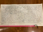 Vintage Map Stratigic Map Army Corp Engineers. Nashville Sheet Wpa Project 1951