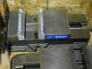 Kurt 8 Precision Machine Vise D-810 With Handle And Jaws