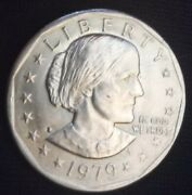 Extremely Rare 1979 Susan B Anthony One Dollar Coin.