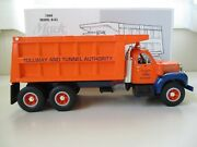 First Gear Tollway And Tunnel Authority 1960 Mack B-model Tandem Axle Dump Truck