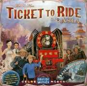 Special Board Game Ticket To Ride Asia Expansion Set Hobby Japan