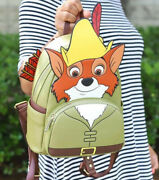 Disney Loungefly - Robin Hood Cosplay Mini Backpack - Bam Exclusive Le Sold Out