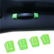 4pcs Interior Roof Grab Handle Trim Cover Accessories For Dodge Challenger 2010+