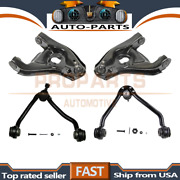 Moog 4pcs Upper+lower Control Arm And Ball Joint For 1989-2000 Chevrolet C2500_prp
