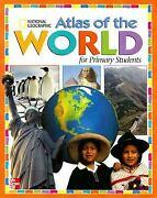 Atlas Of The World For Primary Students Hardcover Macmillan