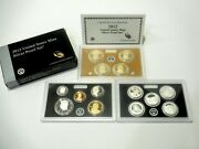 2012- S United States Mint Proof Silver 14-coin Set - Us Mint Pr-35