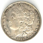 1878 P Morgan Morgan 1 One Dollar Us Silver Coin United States 7 Tail Feathers