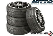 4 Nitto Motivo 225/40zr19 93y All Season Traction Ultra-high Performance Tires