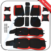 For 5-seats Cars Car Seat Covers For Cars Universal Full Set Luxury Pu Leather